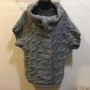 GAP hand knit wool/alpaca blend chunky sweater XL